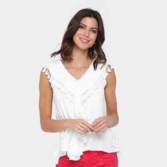 b7710aec81 Blusa Lily Fashion Barbicachos Babados