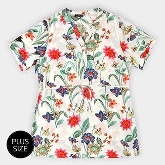 e6699ff9fd Vestido Floral Lily Fashion Plus Size