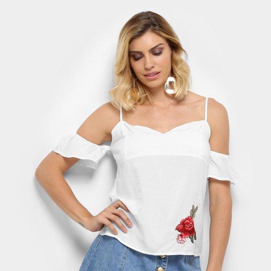 3d97be208 Blusa Acrobat Patch Rosa Feminina - Compre Agora | Zattini