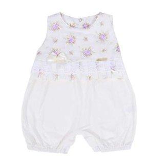 e39b843820 Macacão Curto Infantil Feminino Flores