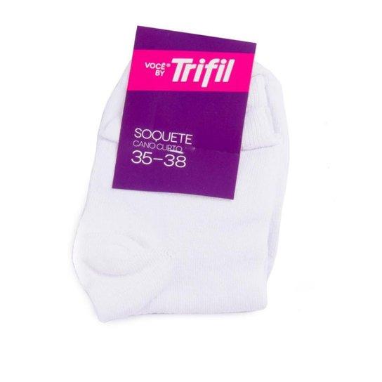 Meia Soquete Cano Curto - Trifil - Branco - Compre Agora   Zattini 5127497f36