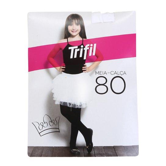 7ea0df43c Meia Calça Infantil Trifil Fio 80 | Zattini