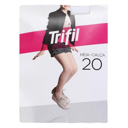 9f2fc6f49 Meia Calça Infantil Trifil Gravatinha - Branco | Zattini