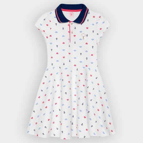 f6793dad3 Vestido Infantil Lilica Ripilica Polo Estampado   Zattini