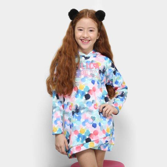 43efcc475 Vestido Infantil Lilica Ripilica Estampado Feminino   Zattini