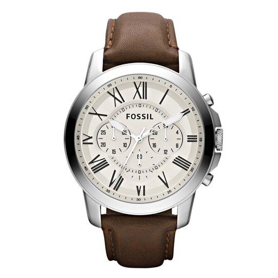 Relógio Fossil Masculino FS4735 - Compre Agora   Zattini 1e1074fe6b