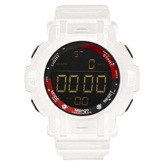 4c894d2826114 Relógio Technos Flamengo Masculino - Branco - Compre Agora