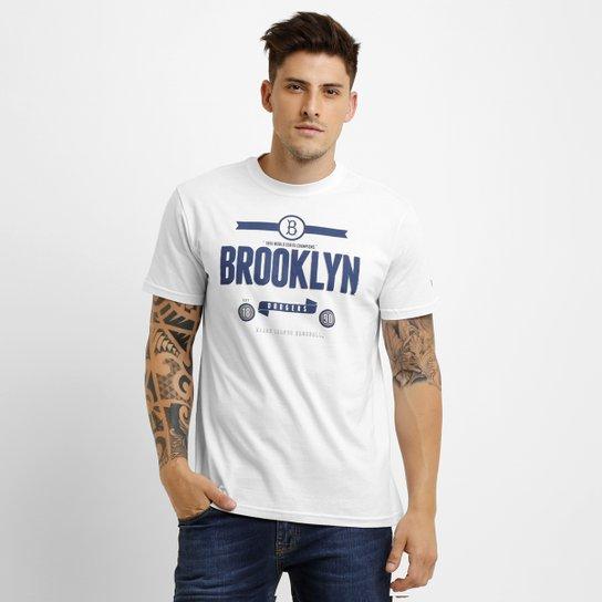 Camiseta New Era MLB Retro Brooklyn Dodgers - Compre Agora  0e149887939