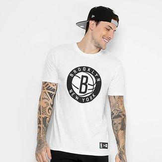 9ec3243f4c Camiseta NBA Brooklyn Nets New Era Masculina