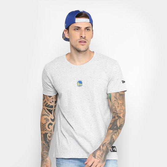 11d415b0a Camiseta NBA Golden State Warriors New Era Mini Logo Masculina - Branco