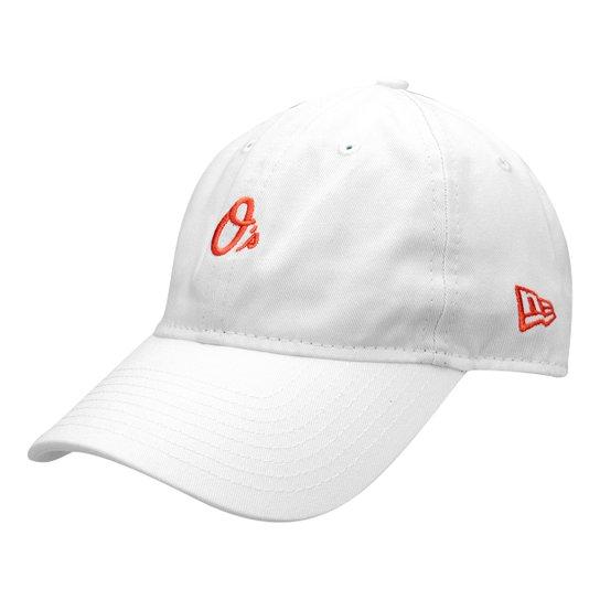 Boné New Era MLB Baltimore Orioles Aba Curva 940 St 2041 Balori - Branco 24a5c4cd897