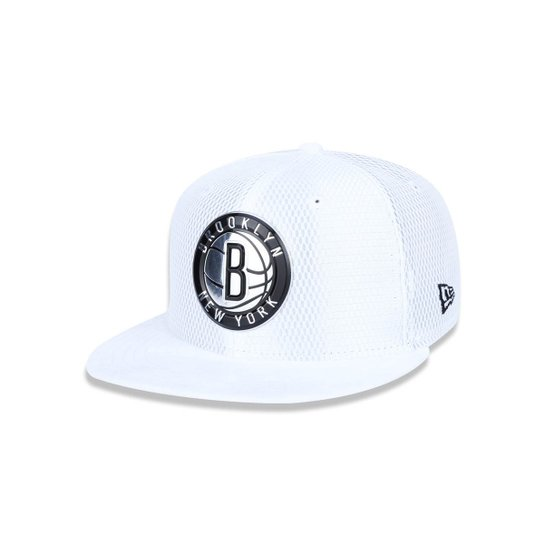 10a2781fa Bone 950 New Era Brooklyn Nets NBA Aba Reta Snapback - Compre Agora ...