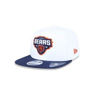 Boné 950 Original Fit Chicago Bears NFL Aba Reta Snapback New Era d5be7dbcf57