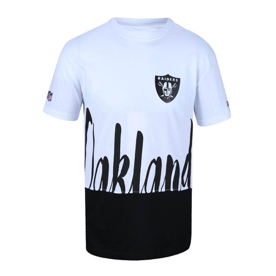 Camiseta Oakland Raiders NFL New Era Masculina - Compre Agora  abfa0f4224c
