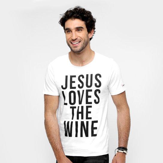 086967d6a Camiseta Sergio K Jesus Loves Masculina - Compre Agora | Zattini