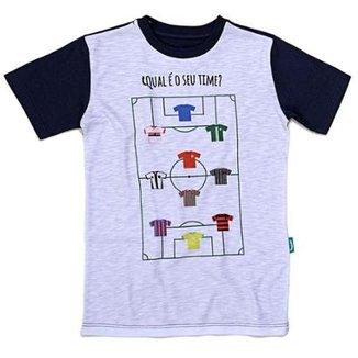 Camiseta Jokenpô Infantil Time d4a059425a85b