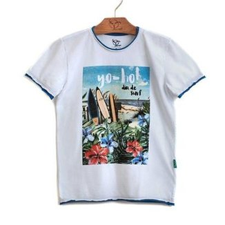 98a95ef185 Camiseta Jokenpô Infantil Dia Do Surf