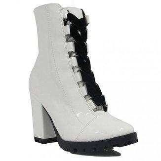 c4e5c95b0 Bota Zariff Shoes Ankle Boot Salto Feminino