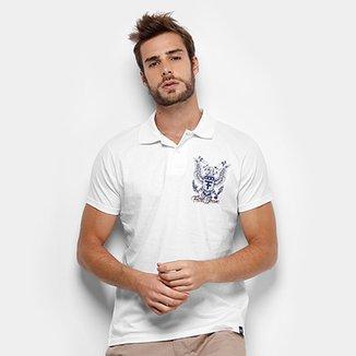 9e90abfd82 Camisa Polo Fatal Malha Logo Masculina