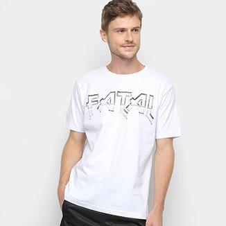 f0dbcacb77 Camiseta Fatal Básica Logo Masculina