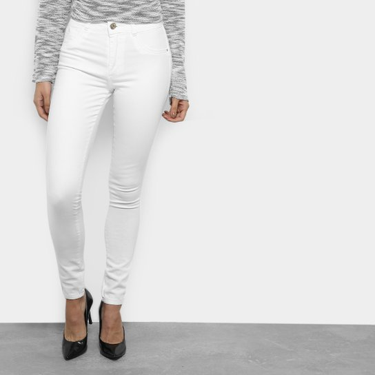 Calça Sarja Skinny Biotipo Básica Cintura Média Feminina - Compre ... 5ce2e15a173
