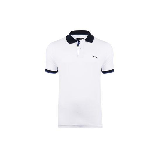 43aff0e2e0 Camisa Polo Pierre Cardin Cobalt Masculina - Compre Agora