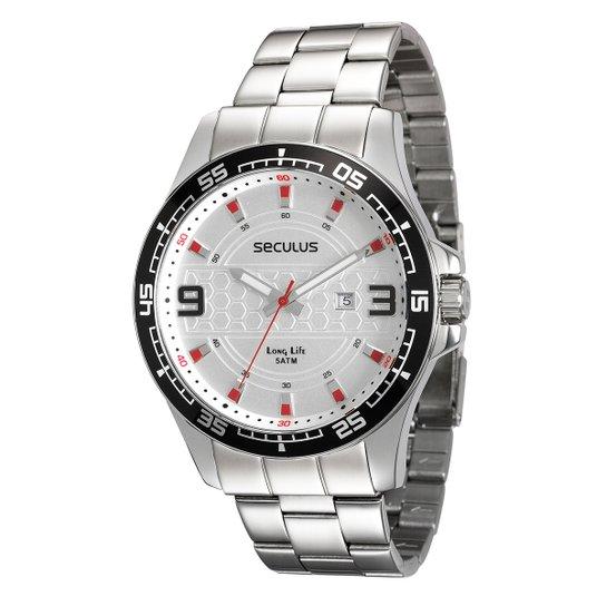4e2fc5543a4 Relógio Seculus Analógico Long Life 28763G0SVNA1 Masculino - Compre ...