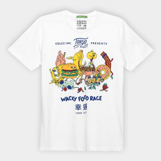13dbb1d8a Camiseta Infantil Colcci Fun Fast Food Masculina | Zattini