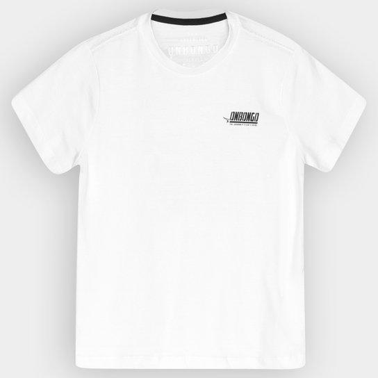Camiseta Onbongo Básica Infantil - Branco - Compre Agora  5b06648fd4ce7