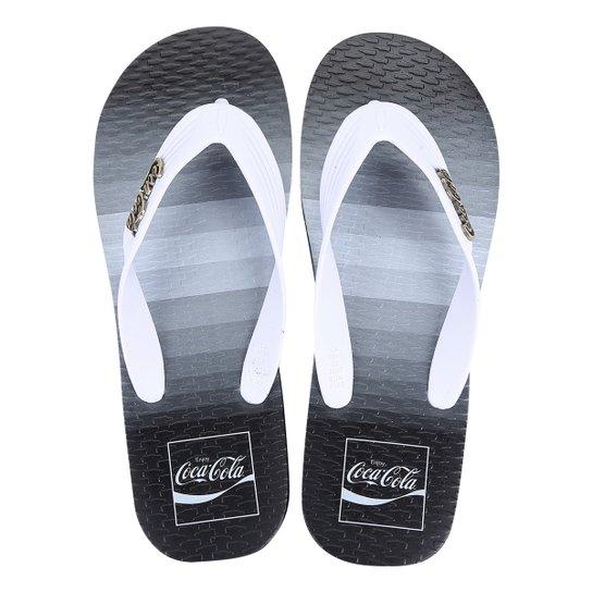5c03a0c579327 Chinelo Coca Cola Speed Pacific - Branco - Compre Agora   Zattini