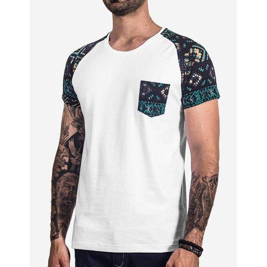 52ce42c57 Camiseta Hermoso Compadre Raglan Etnica Masculina - Compre Agora ...