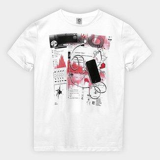 Camiseta Infantil Cativa Estampada Masculina cbafb3b65e62e
