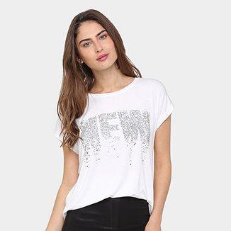 37e37ff61e Camiseta Facinelli New Feminina
