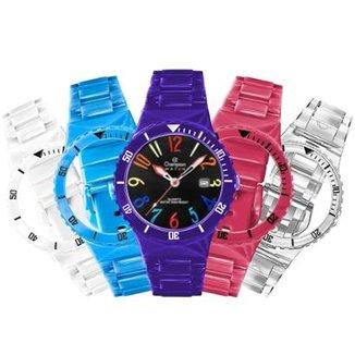 879775af986 Relógio Unissex Champion Troca Pulseiras Cp30119x