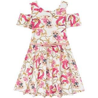 97b163ff79 Vestido Infantil Boca Grande