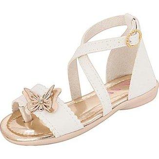 b19cd68c8 Sandálias Plis Calçados Infantis Bebê Menina Branco - Calçados | Zattini