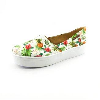 f0ba4f738 Tênis Slip On Quality Shoes Flatform Abacaxi Feminino