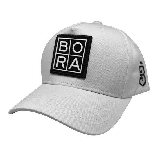 Boné Bora Trucker Grade - Branco - Compre Agora  7063edeaf42