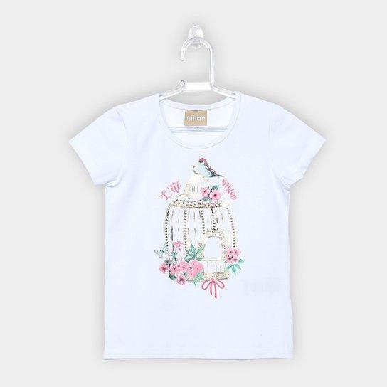 17f57854e Blusa Infantil Milon Cotton Feminina - Compre Agora