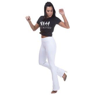 e94dcacbf7 Calça Cintura Alta Miss Blessed Bailarina