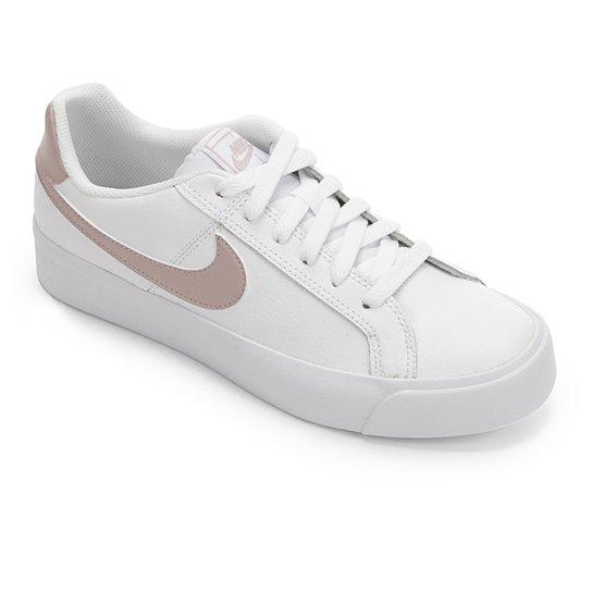 4be9dca44a614 Tênis Nike Court Royale Feminino - Branco - Compre Agora