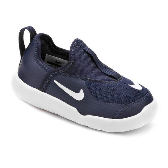 a79258736e6c8 Tênis Infantil Nike Lil' Swoosh Masculino - Marinho e Branco | Zattini