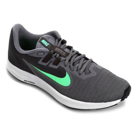 0a0c6d84f1 Tênis Nike Downshifter 9 Masculino - Cinza e Verde | Zattini