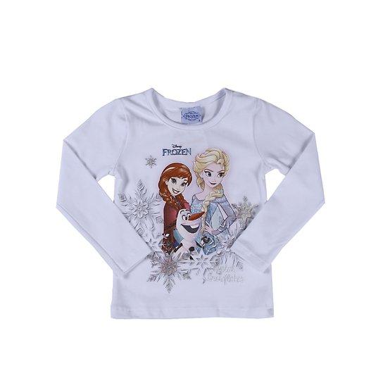 f2c1f138a Blusa Manga Longa Infantil Frozen - Compre Agora