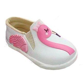 Tênis Infantil Pesh Slip On Flamingo Tênis Feminino 2f748954c8d
