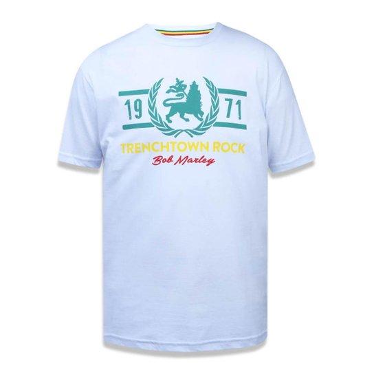 66e0721c2 Camiseta Bob Trenchtown New Era Masculina - Branco - Compre Agora ...