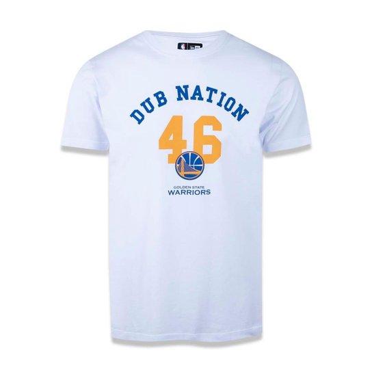 Camiseta Golden State Warriors NBA New Era Masculina - Compre Agora ... 8a8d57101f1d5