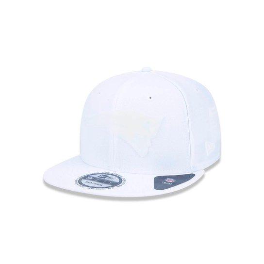 1ab90d400c8d6 Boné 950 New England Patriots NFL Aba Reta New Era - Branco - Compre ...