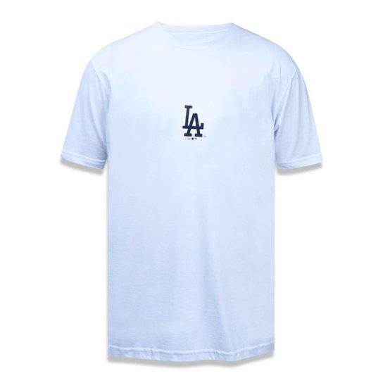3797075a4 Camiseta Los Angeles Dodgers MLB New Era Masculina - Branco - Compre ...