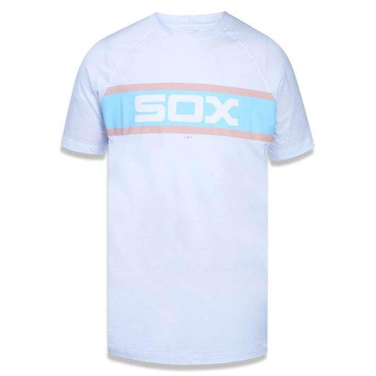 Camiseta Chicago White Sox MLB New Era Masculina - Branco - Compre ... 38c0795d9a8